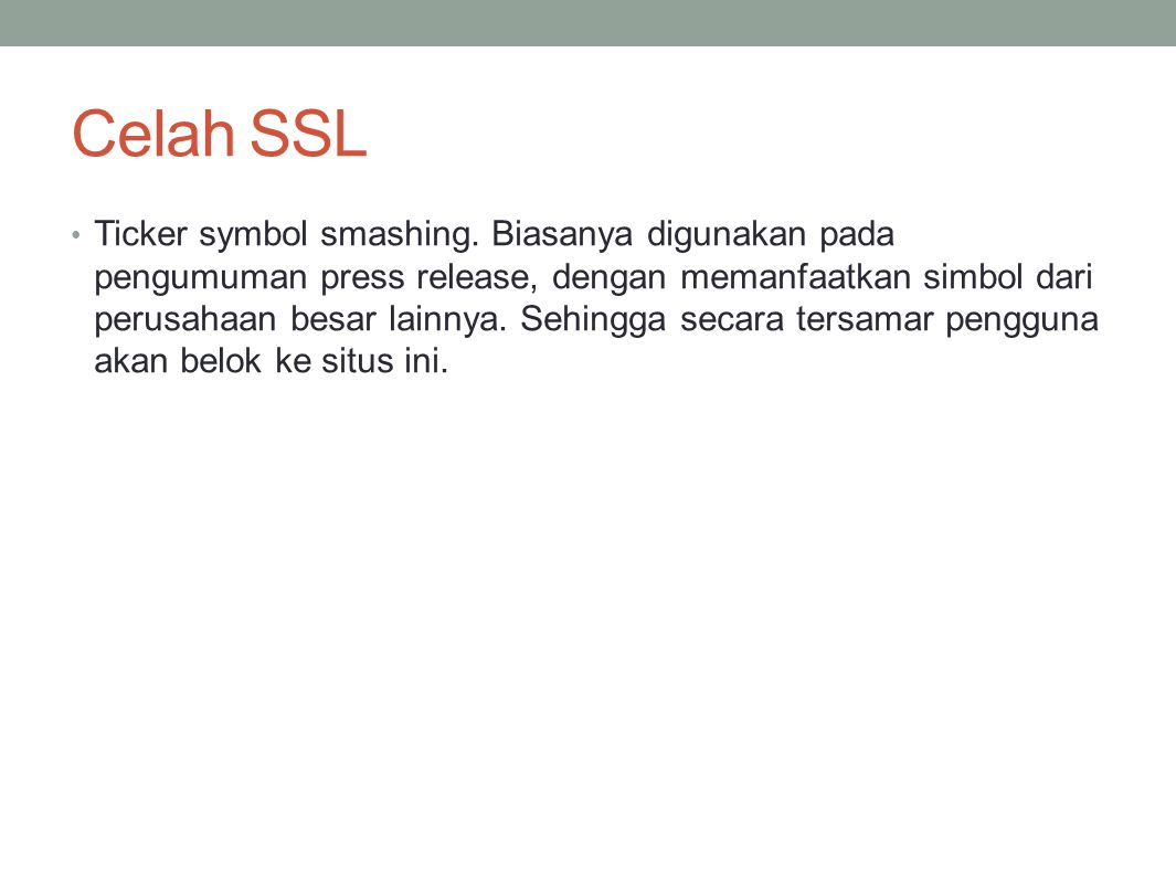 Celah SSL