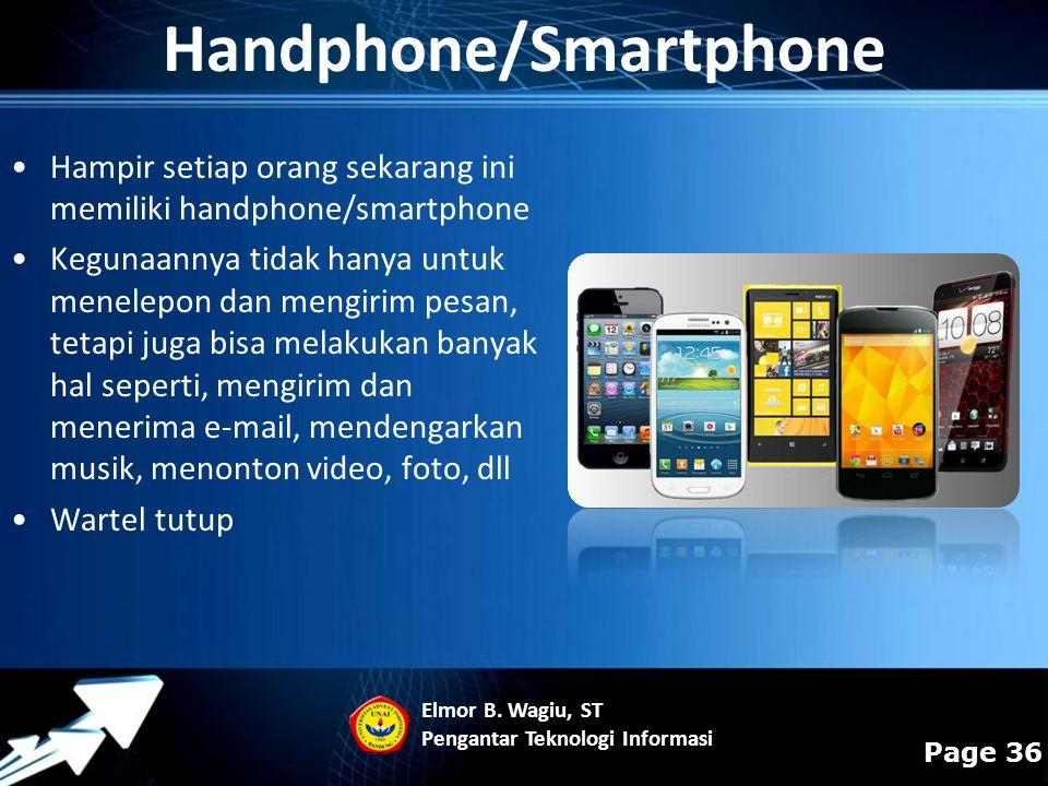 Handphone/Smartphone