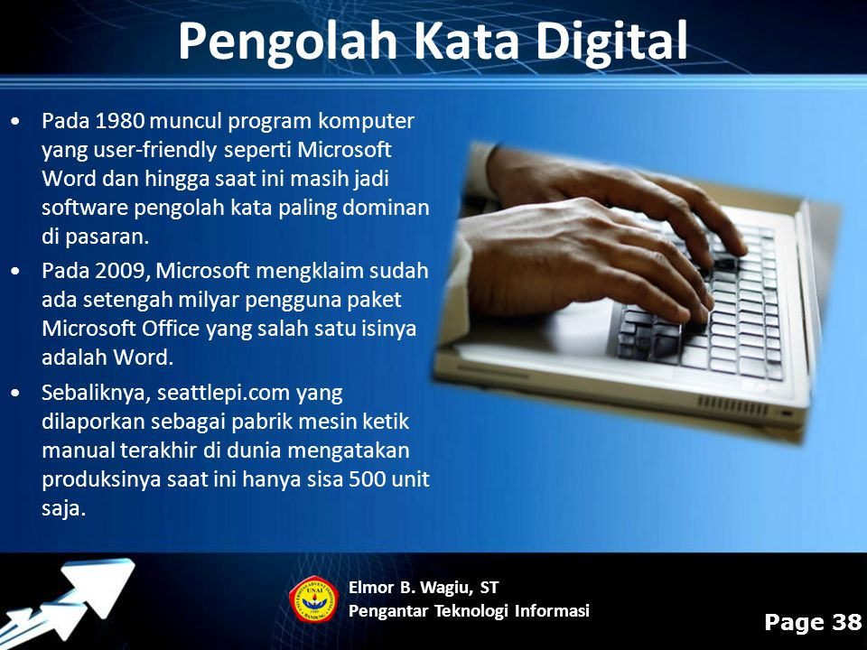 Pengolah Kata Digital