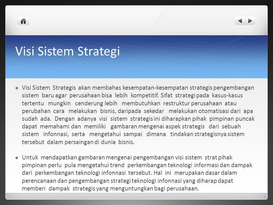 Visi Sistem Strategi