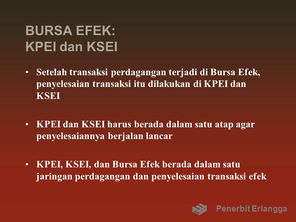 BURSA EFEK: KPEI dan KSEI