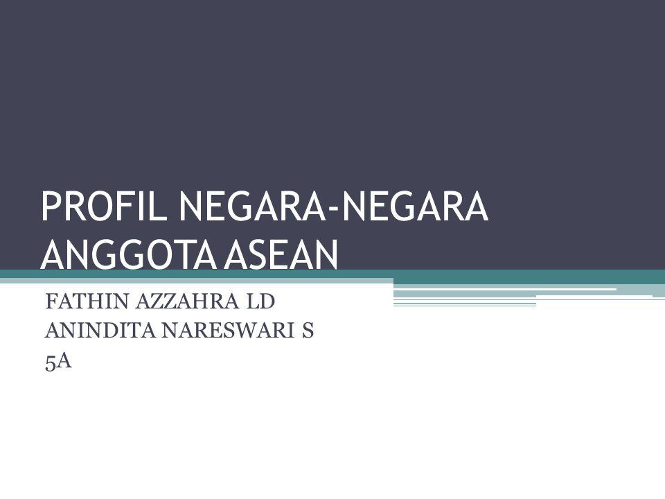 PROFIL NEGARA-NEGARA ANGGOTA ASEAN