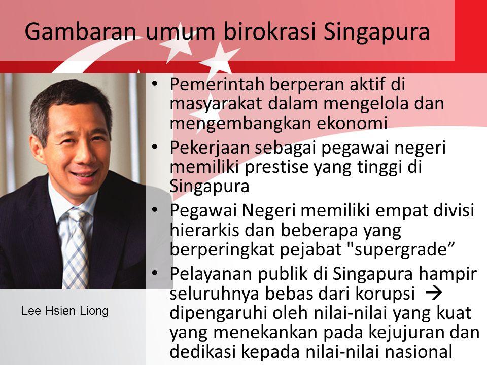 Gambaran umum birokrasi Singapura