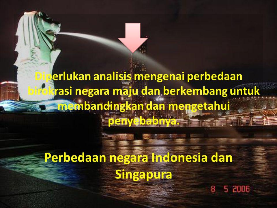 Perbedaan negara Indonesia dan Singapura
