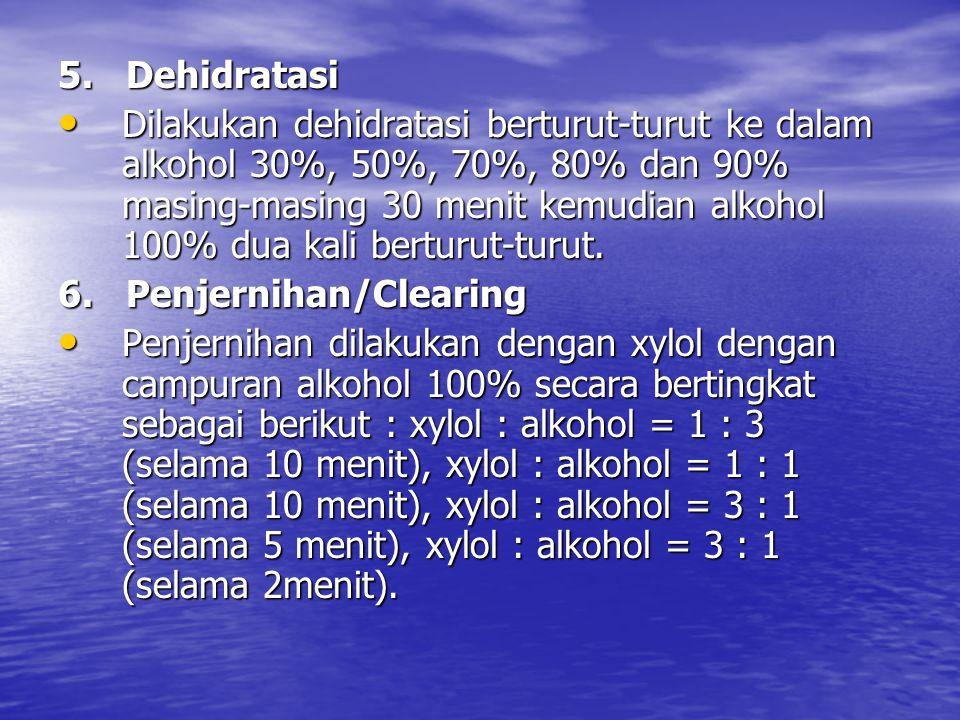 5. Dehidratasi