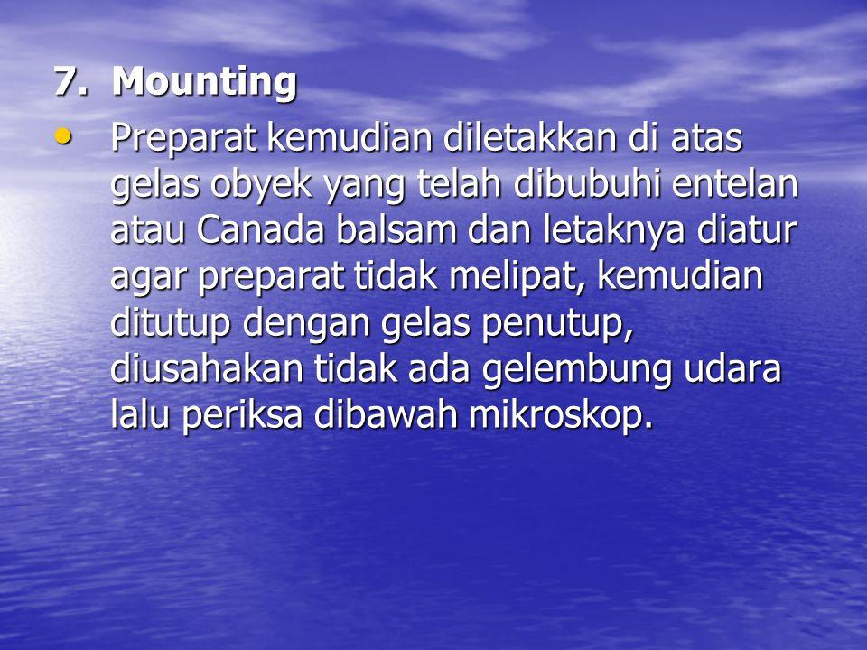 7. Mounting