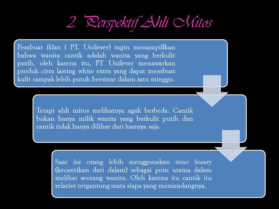 2. Perspektif Ahli Mitos