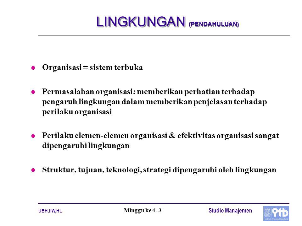 LINGKUNGAN (PENDAHULUAN)