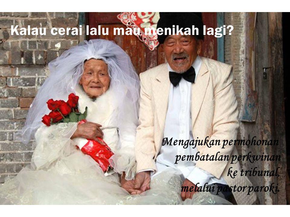 Kalau cerai lalu mau menikah lagi