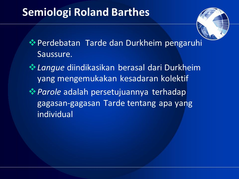 Semiologi Roland Barthes