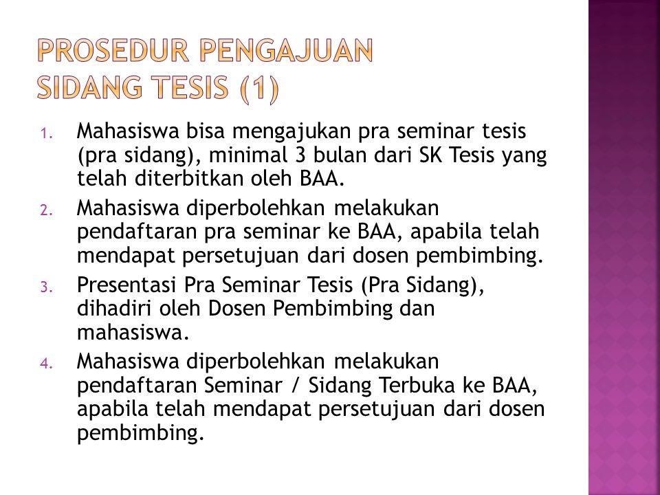 PROSEDUR PENGAJUAN sidang TESIS (1)