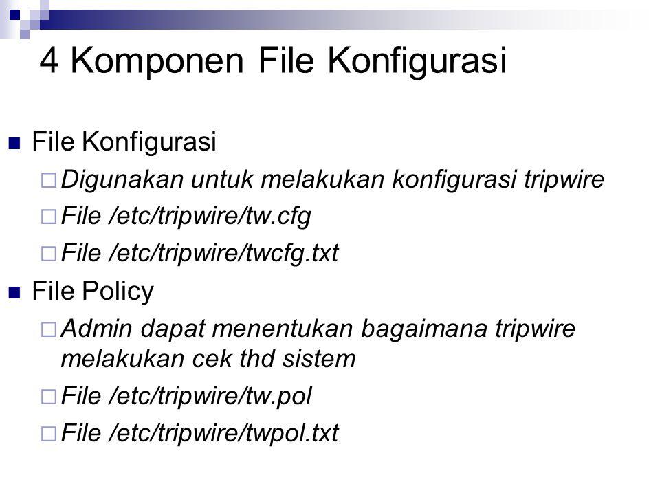 4 Komponen File Konfigurasi