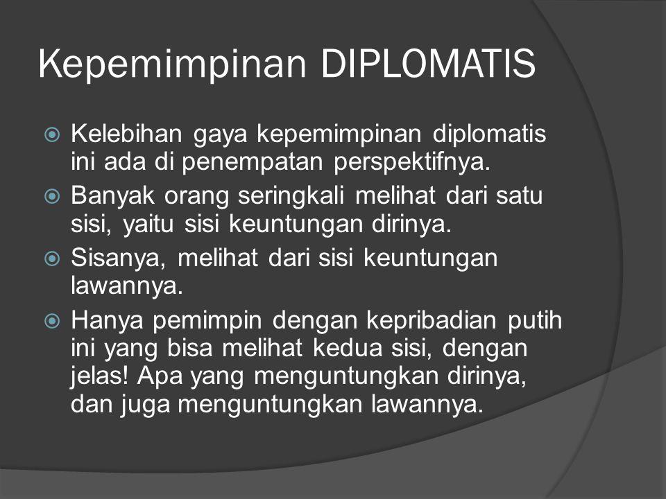 Kepemimpinan DIPLOMATIS
