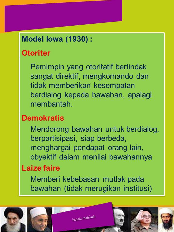 Model Iowa (1930) : Otoriter.