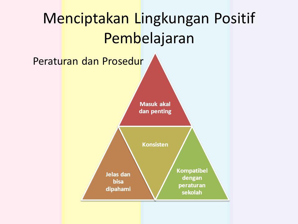 Menciptakan Lingkungan Positif Pembelajaran