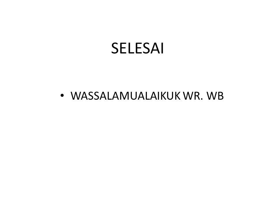 WASSALAMUALAIKUK WR. WB