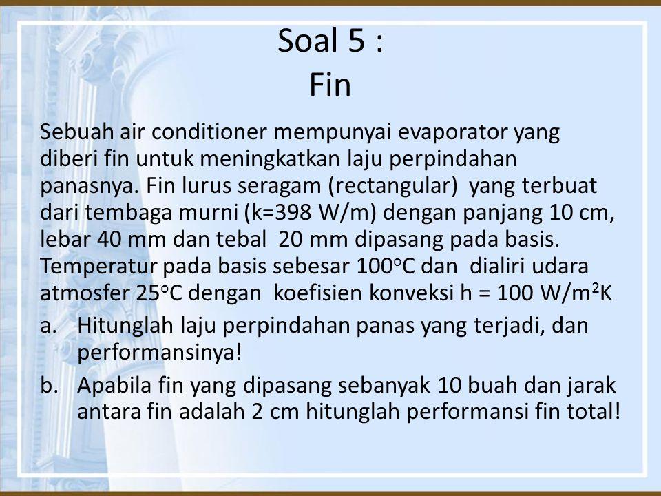 Soal 5 : Fin