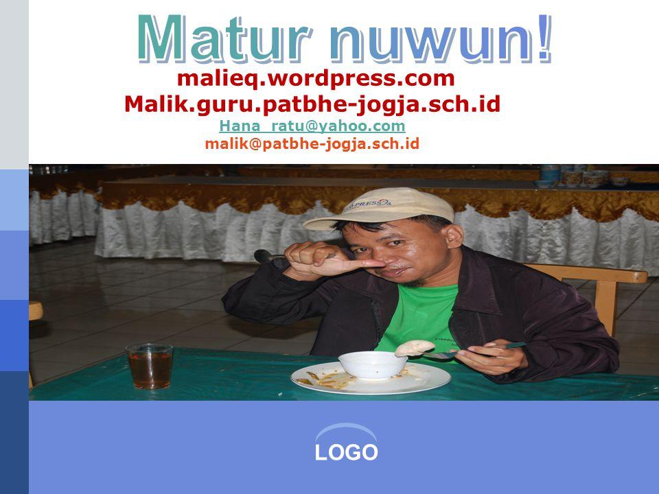 Matur nuwun! malieq.wordpress.com Malik.guru.patbhe-jogja.sch.id