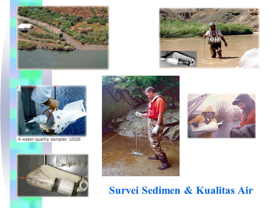 Survei Sedimen & Kualitas Air