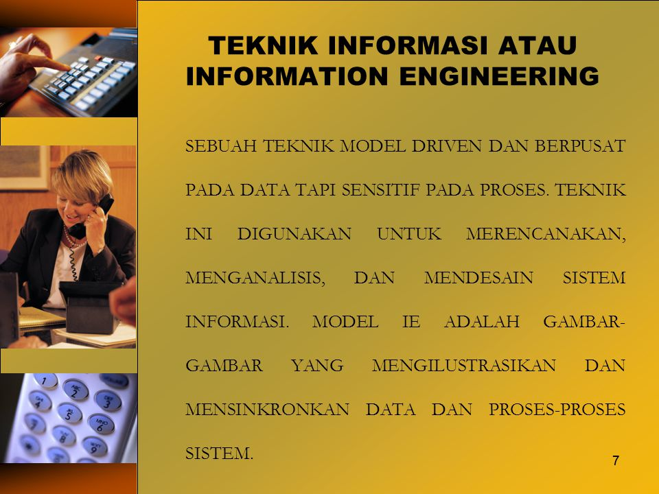 TEKNIK INFORMASI ATAU INFORMATION ENGINEERING
