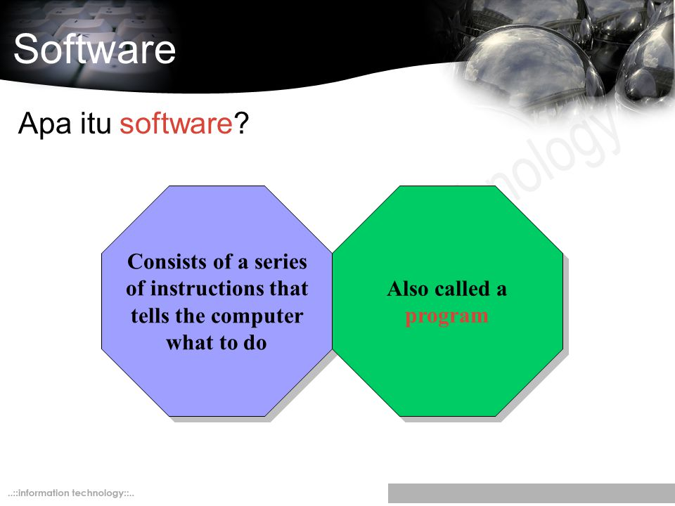Software Apa itu software