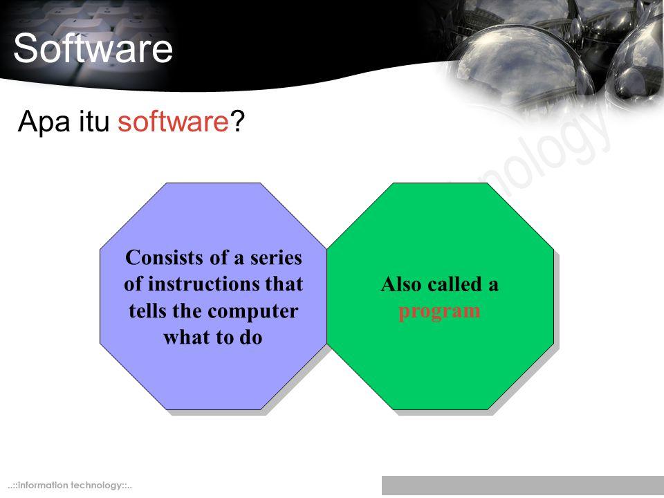 Software Apa itu software