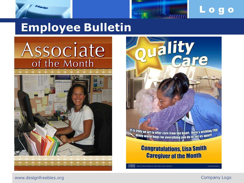 Employee Bulletin www.designfreebies.org Company Logo