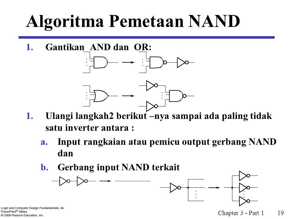 Algoritma Pemetaan NAND