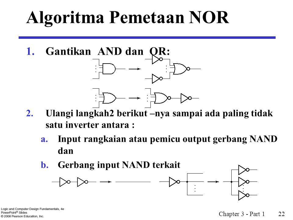 Algoritma Pemetaan NOR
