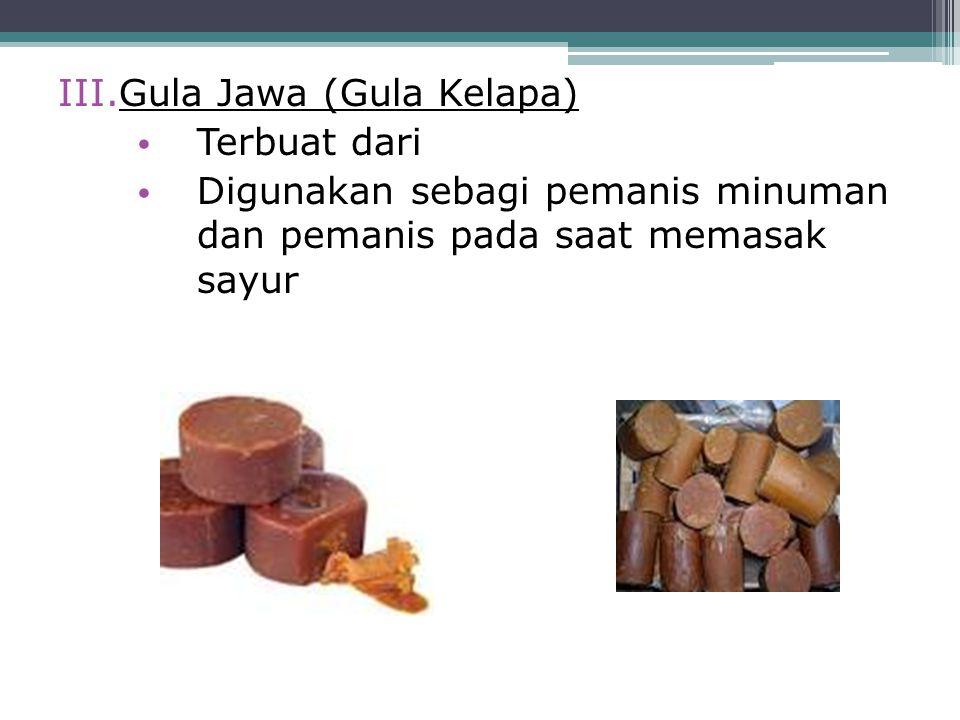 Gula Jawa (Gula Kelapa)