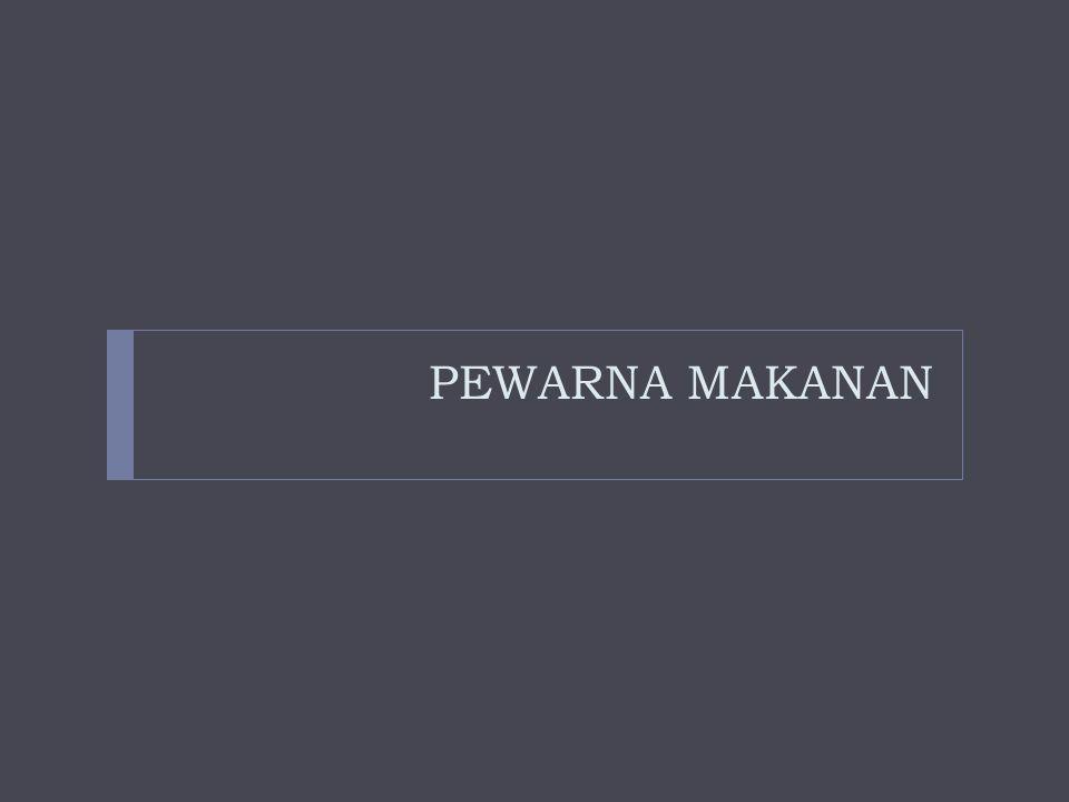 PEWARNA MAKANAN