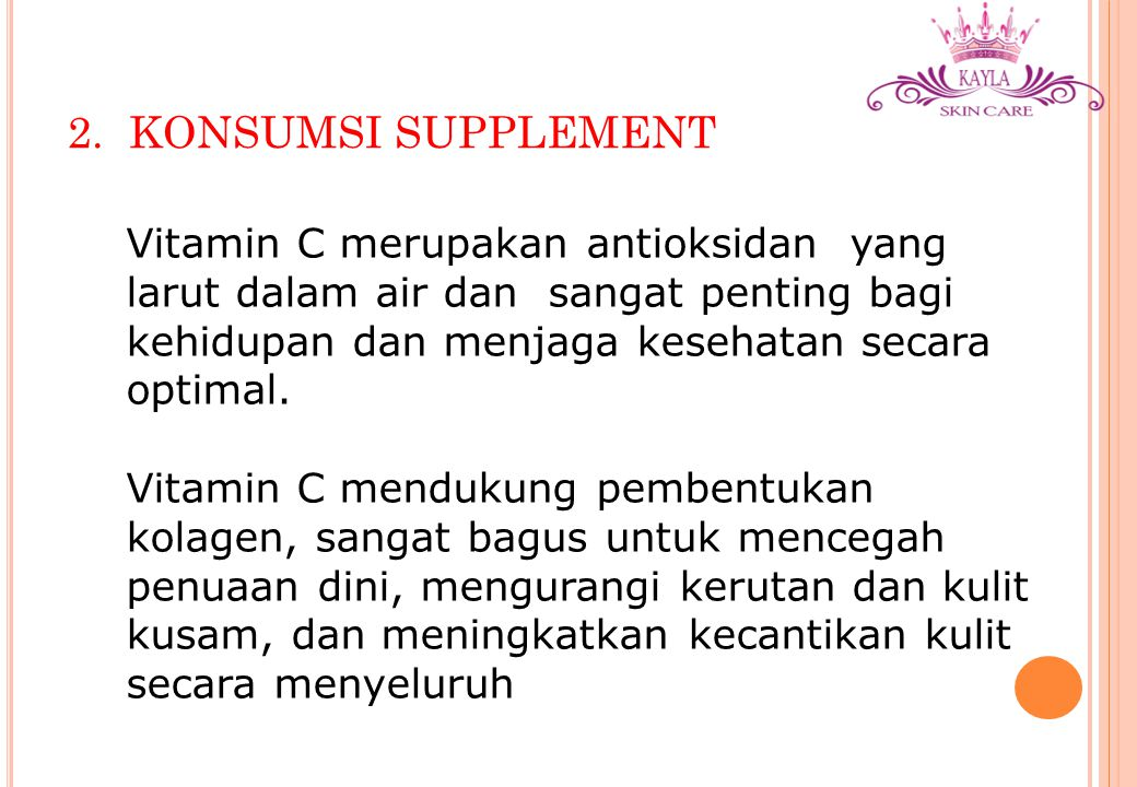 2. KONSUMSI SUPPLEMENT