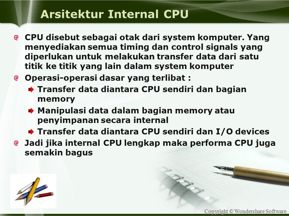 Arsitektur Internal CPU