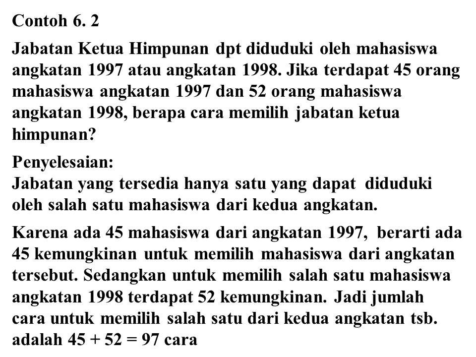 Contoh 6. 2