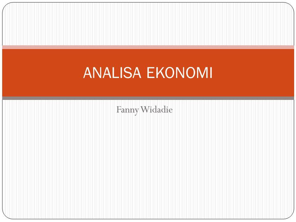 ANALISA EKONOMI Fanny Widadie