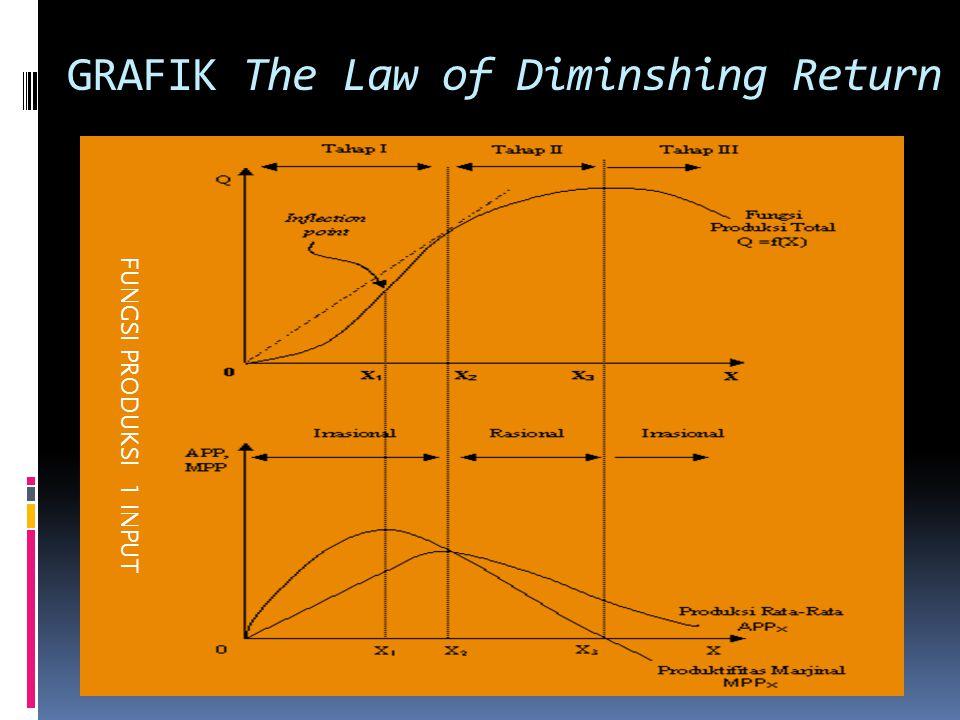 GRAFIK The Law of Diminshing Return