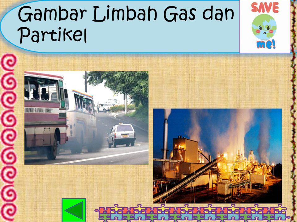 Gambar Limbah Gas dan Partikel