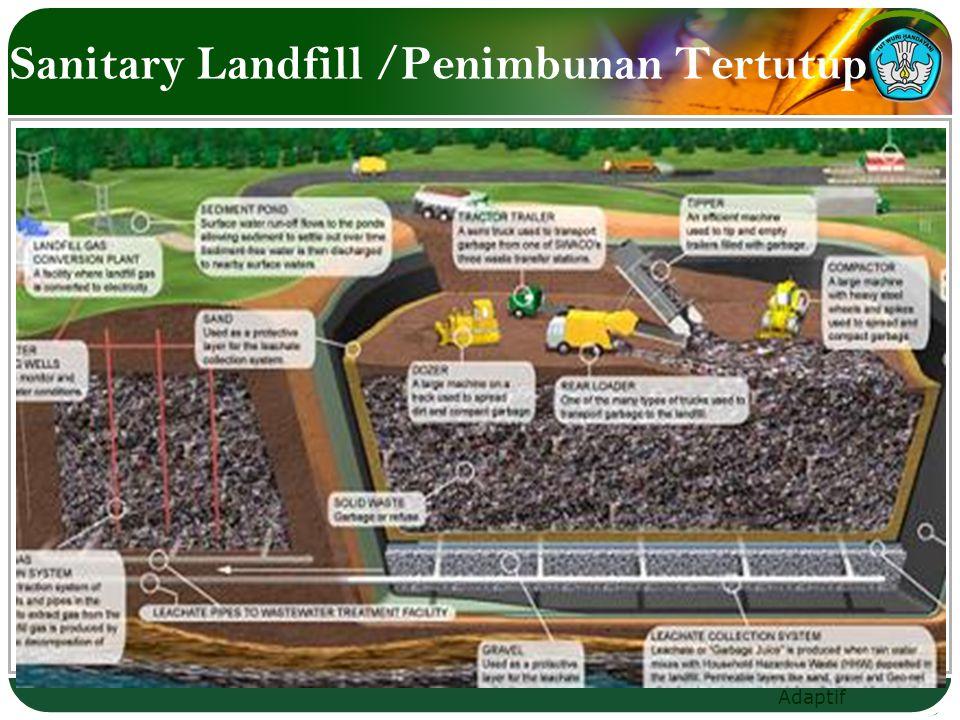 Sanitary Landfill /Penimbunan Tertutup