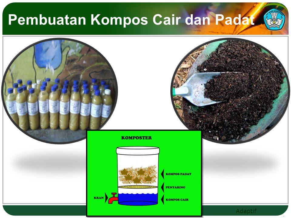 Pembuatan Kompos Cair dan Padat