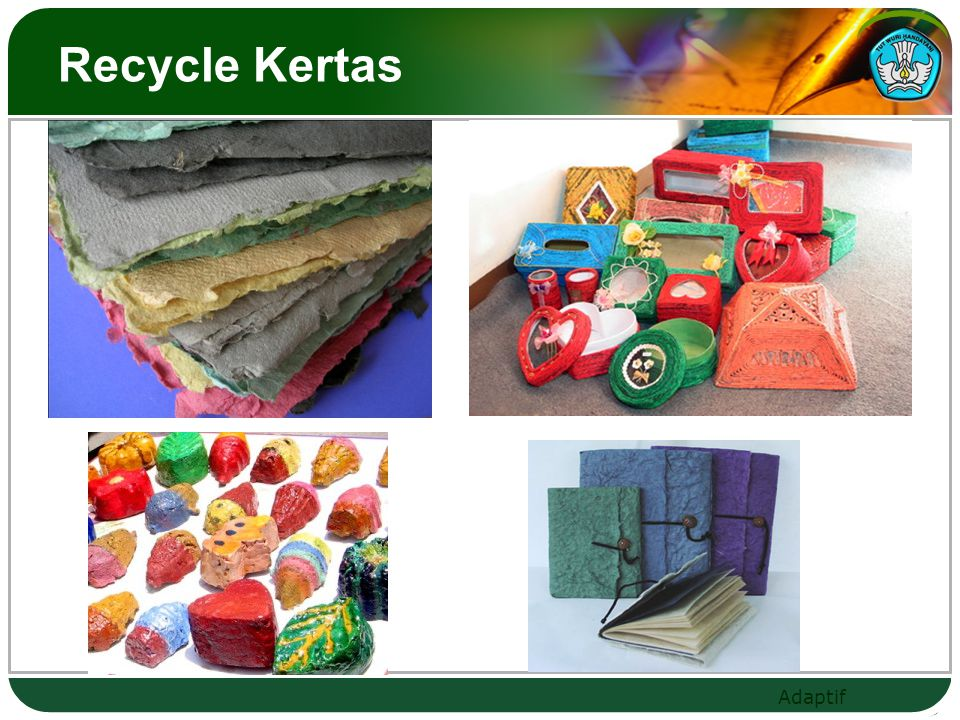 Recycle Kertas
