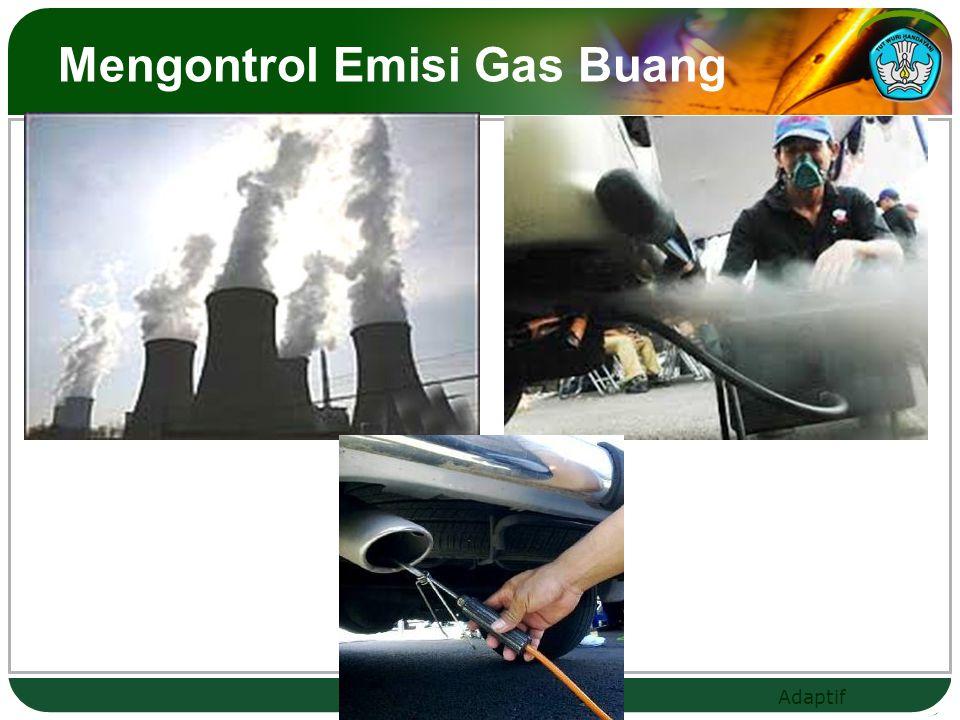 Mengontrol Emisi Gas Buang