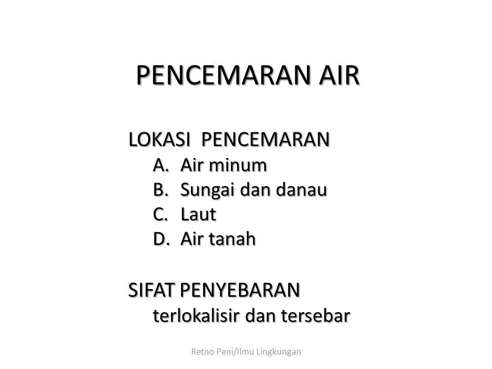 Retno Peni/Ilmu Lingkungan