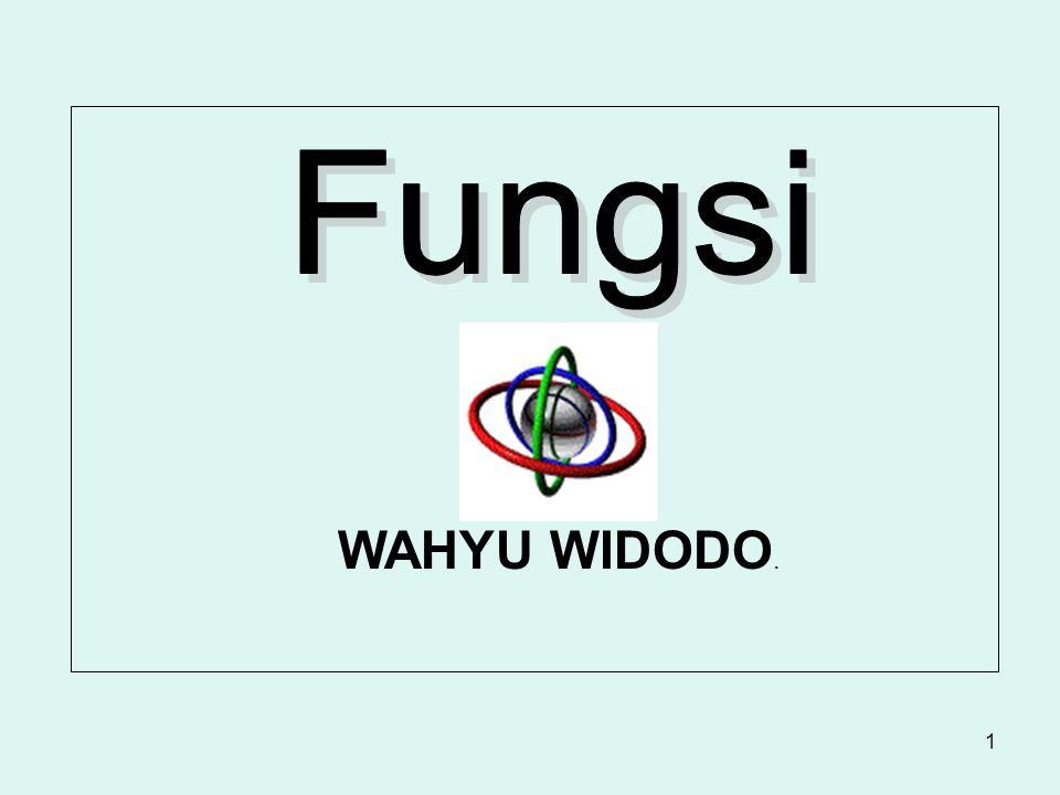 Fungsi WAHYU WIDODO.