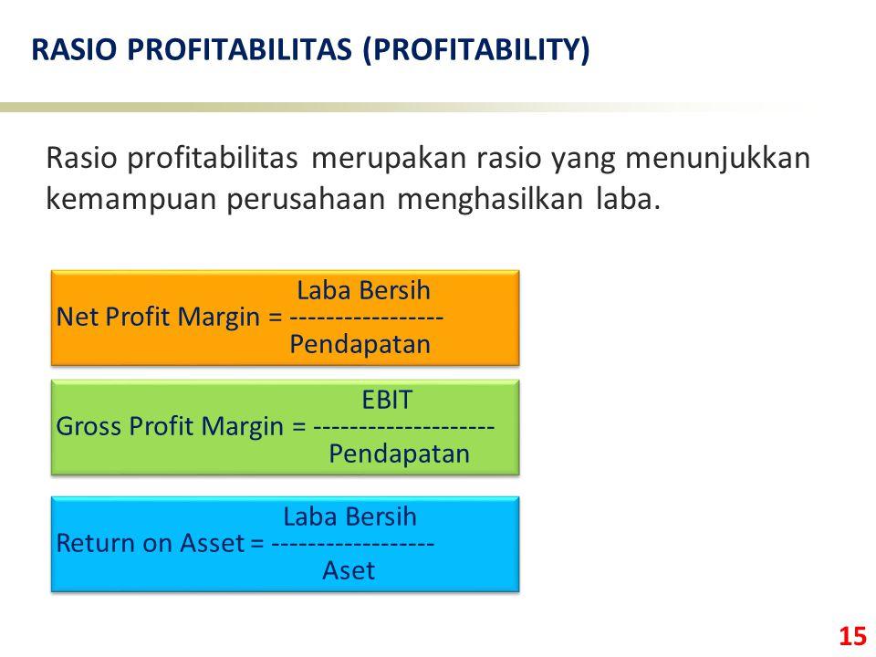 RASIO PROFITABILITAS (PROFITABILITY)
