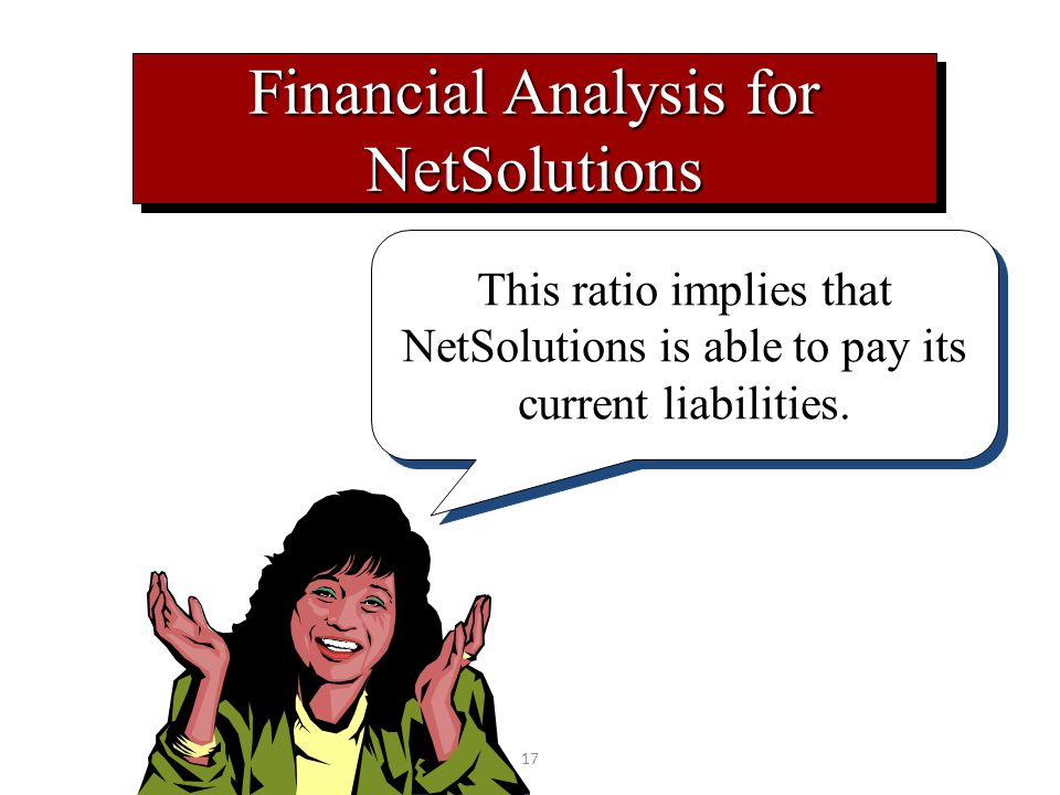 Financial Analysis for NetSolutions
