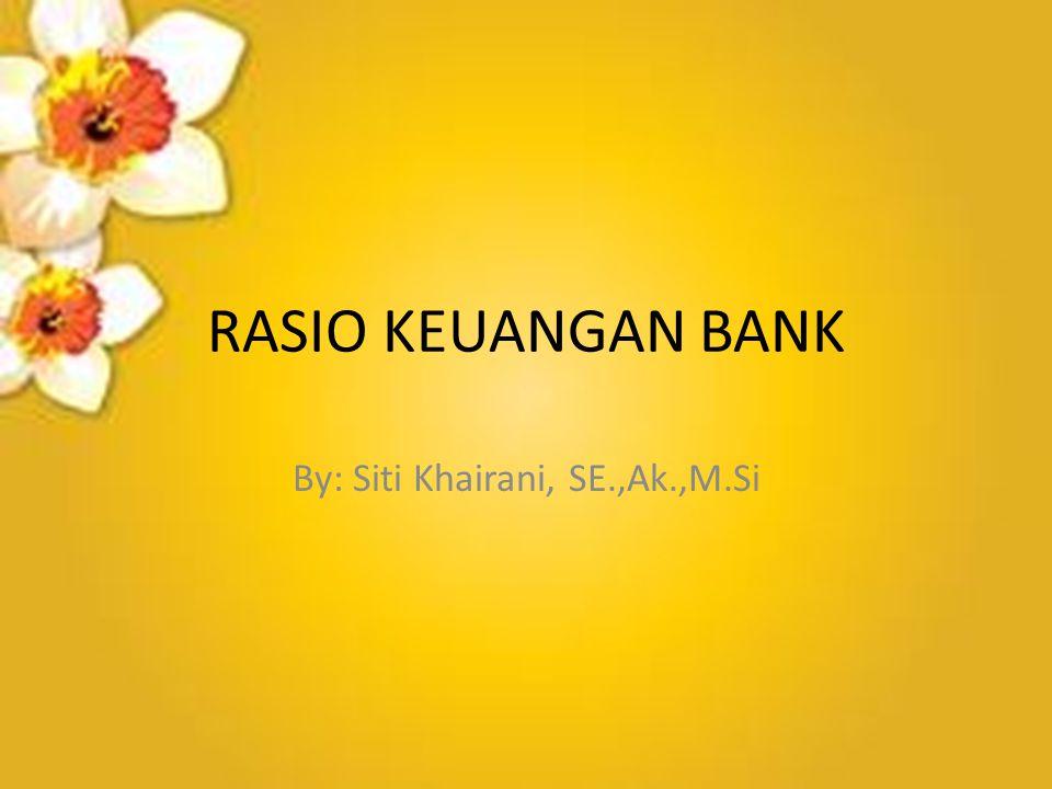 By: Siti Khairani, SE.,Ak.,M.Si