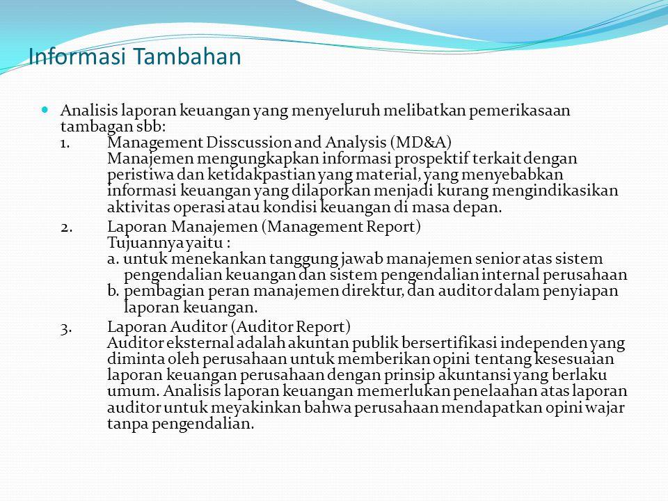 Informasi Tambahan