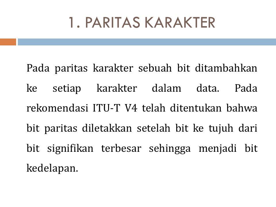 1. PARITAS KARAKTER