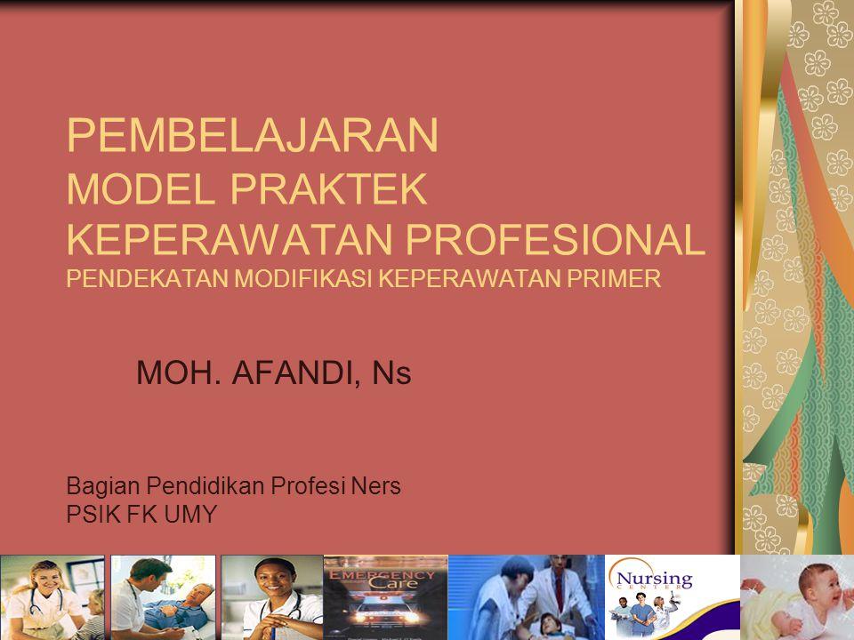 MOH. AFANDI, Ns Bagian Pendidikan Profesi Ners PSIK FK UMY
