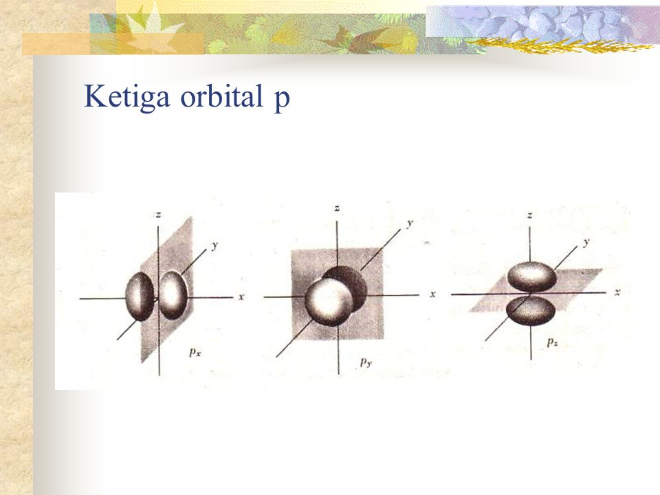 Ketiga orbital p
